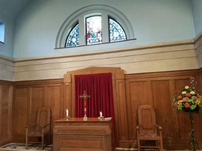 Church interior by Julian Temple