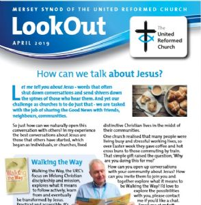 April Lookout front cover