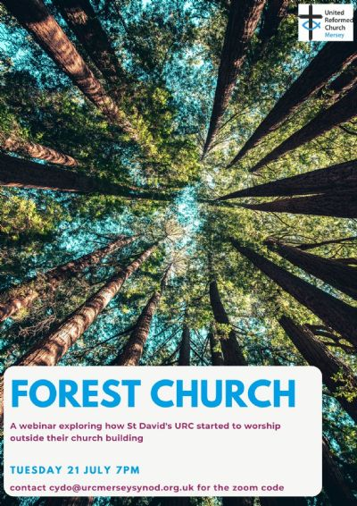 Forest church poster
