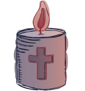 Candle of hope poster image