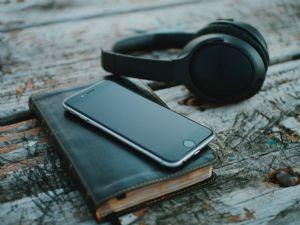 Bible ad headphones