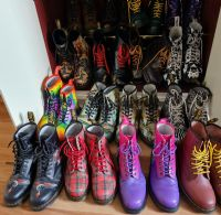 Malcolm's Doc Martens collection