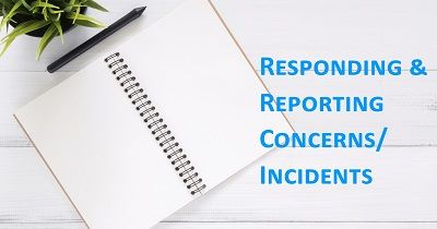 Click here to go to our reporting and responding page