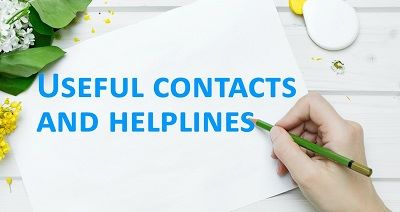 Click here to go to our useful contacts page