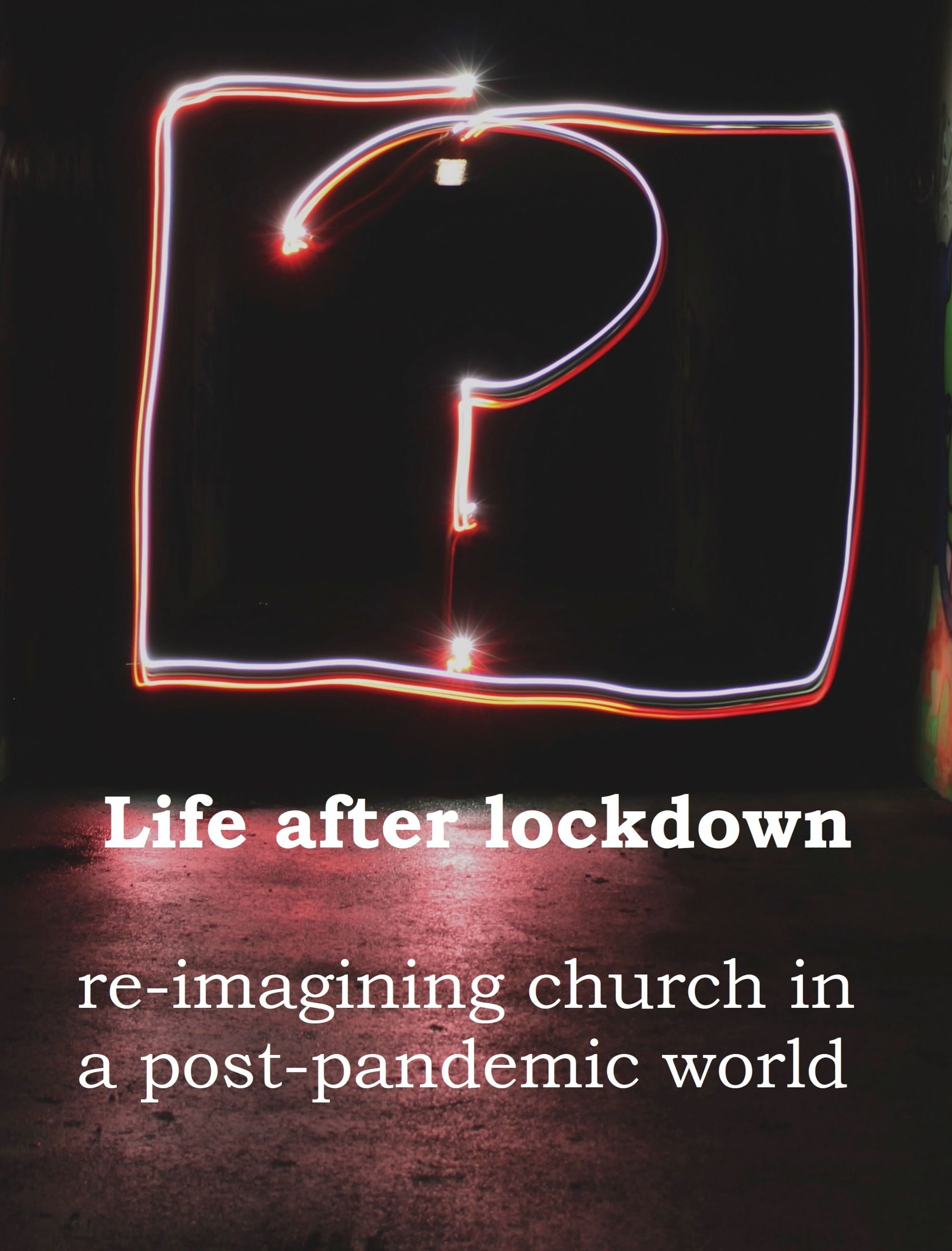 Flyer for life after lockdown