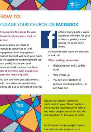 Cover image of Facebook posts resource