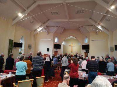 Formby Methodist Church congregation