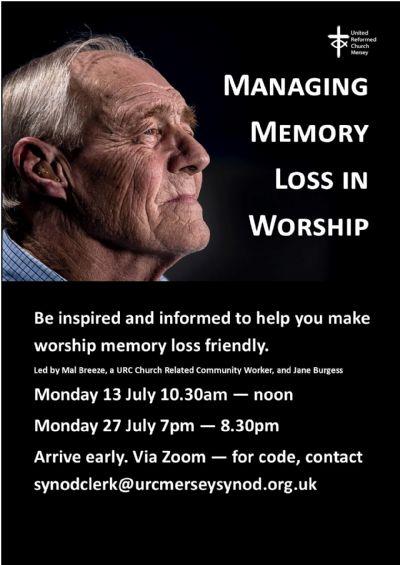Memory loss poster