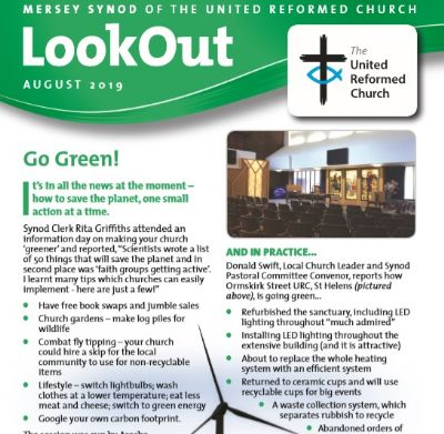 August Lookout front cover
