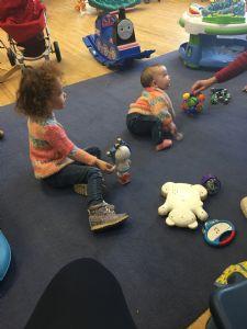 Toddlers at play