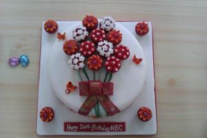 24th Birthday Cake