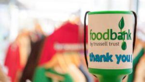 Food Bank Collection Tin