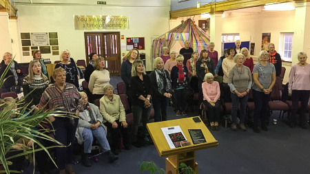 The very first meeting of Hockley Community Choir