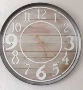 The clock in Gillian's lounge.