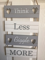 Think Less Giggle More