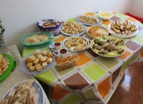 Bring and share lunch