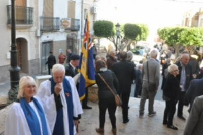 Remembrance Sunday - Arboleas