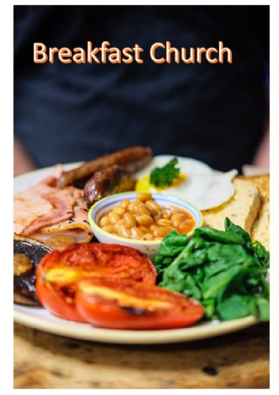 Picture of cooked breakfast