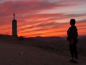 Holy Land Sunset