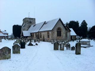Church snow