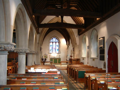 St Marys interior