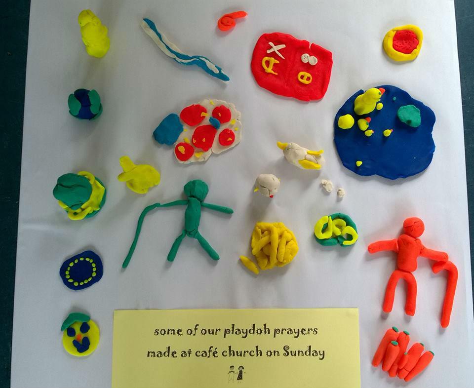 Playdough Prayers