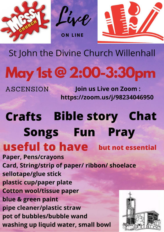 Poster Messy Church