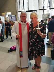 confirmation bishop at cathedral