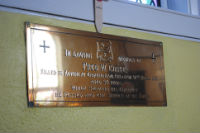 Fred Corke plaque
