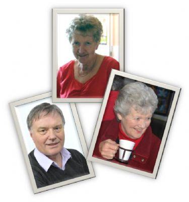 Michael, Margaret, Frankie