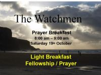 Mens Ministry 8.00am Saturday 19th October