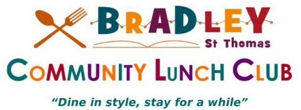 Bradley Community Lunch Club at Bradley Court, 12.15pm Tuesdays