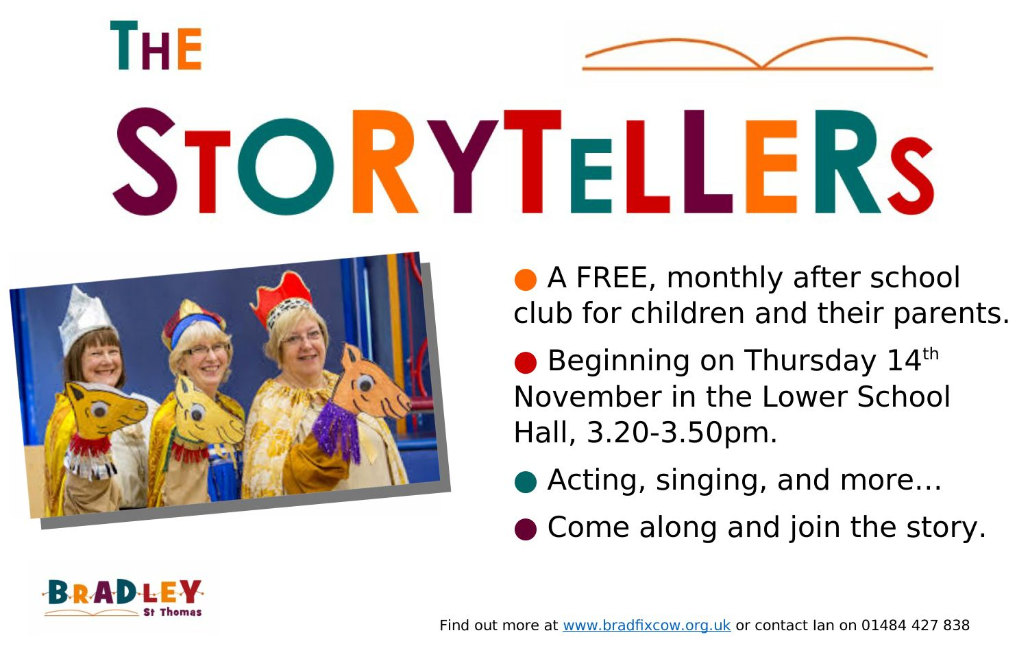 Storytellers - our new initiative in school