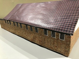 A model of the church new build