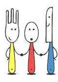 cutlery cartoon