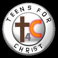 Teens for Christ Logo (black background)
