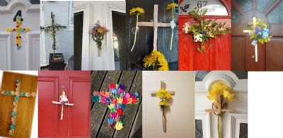 Easter Crosses Montage