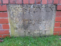 Original foundation stone
