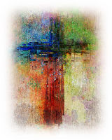 colourful cross