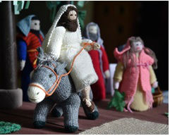 knitted bible stories