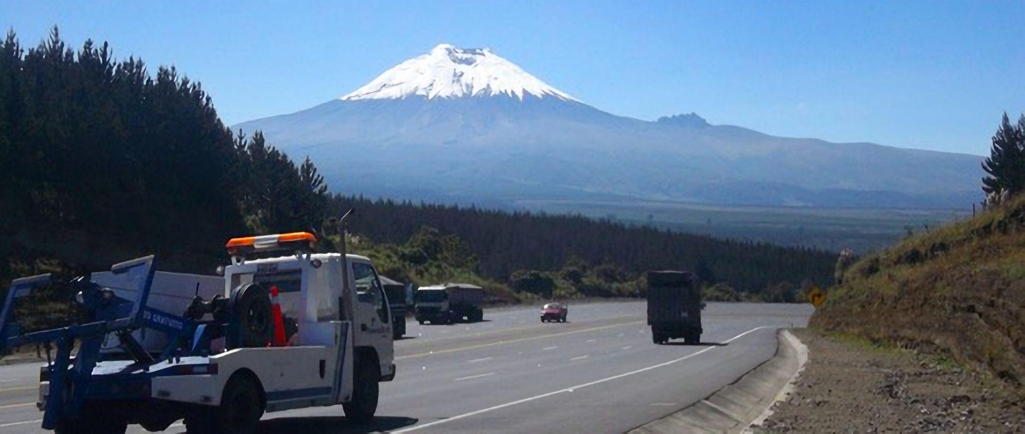 A view from Avenida de los Volcanes