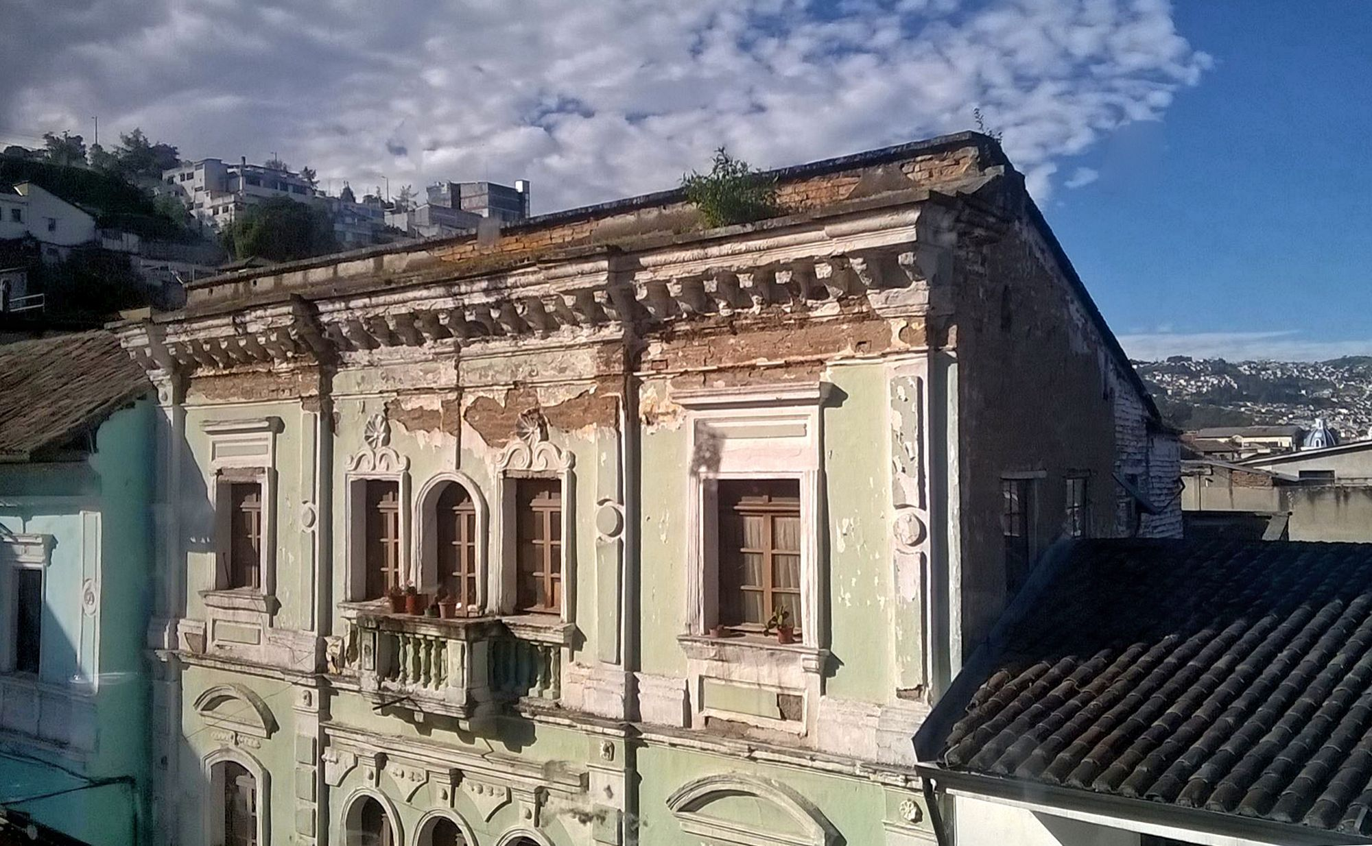 Old building in Quito