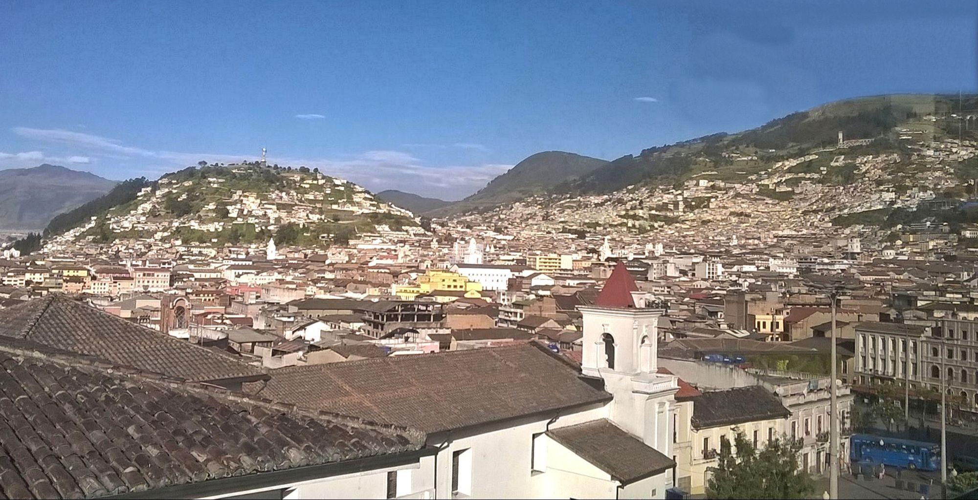 Overlooking Quito