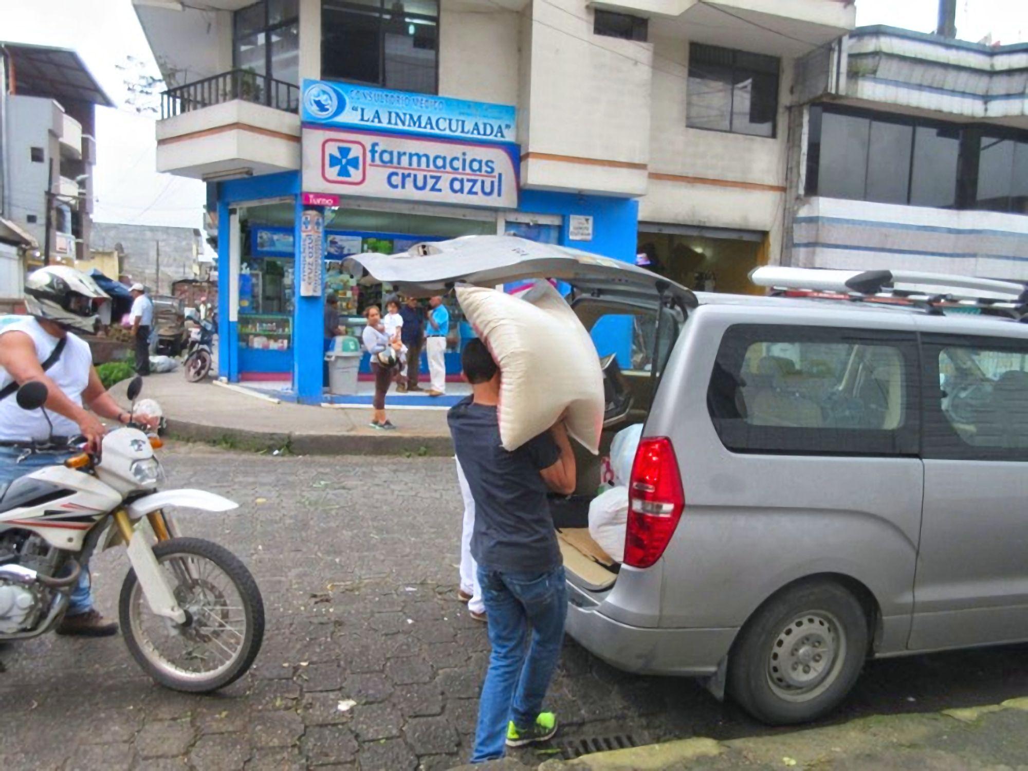 Rice seller Santo Domingo