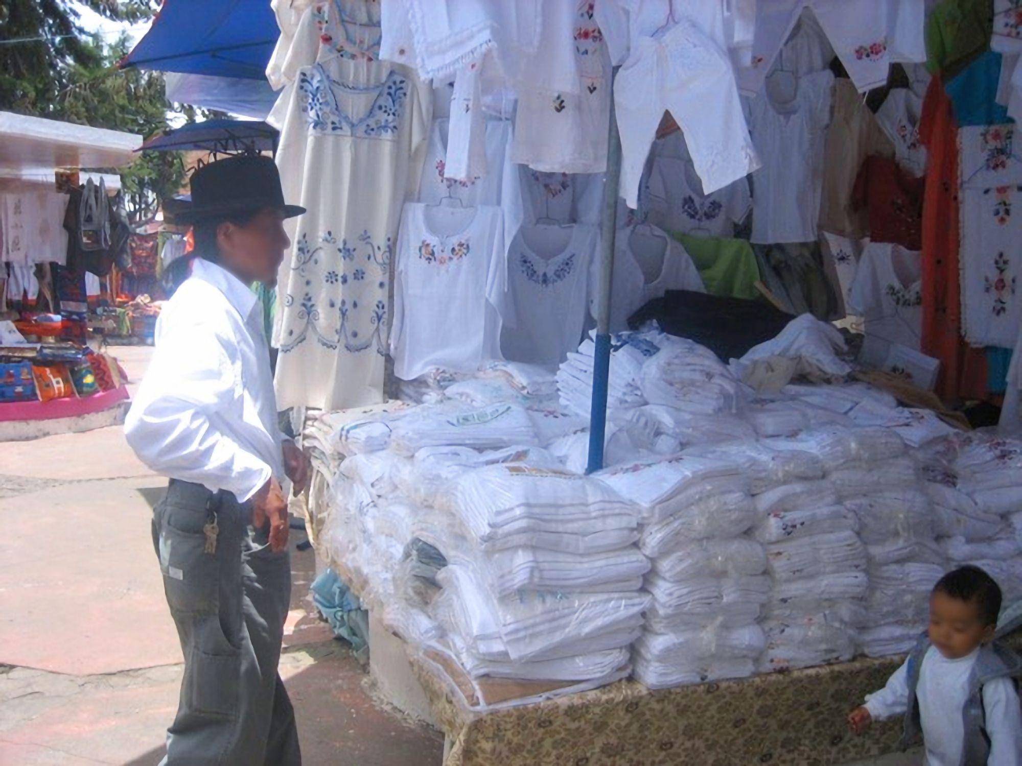 Cotton goods seller