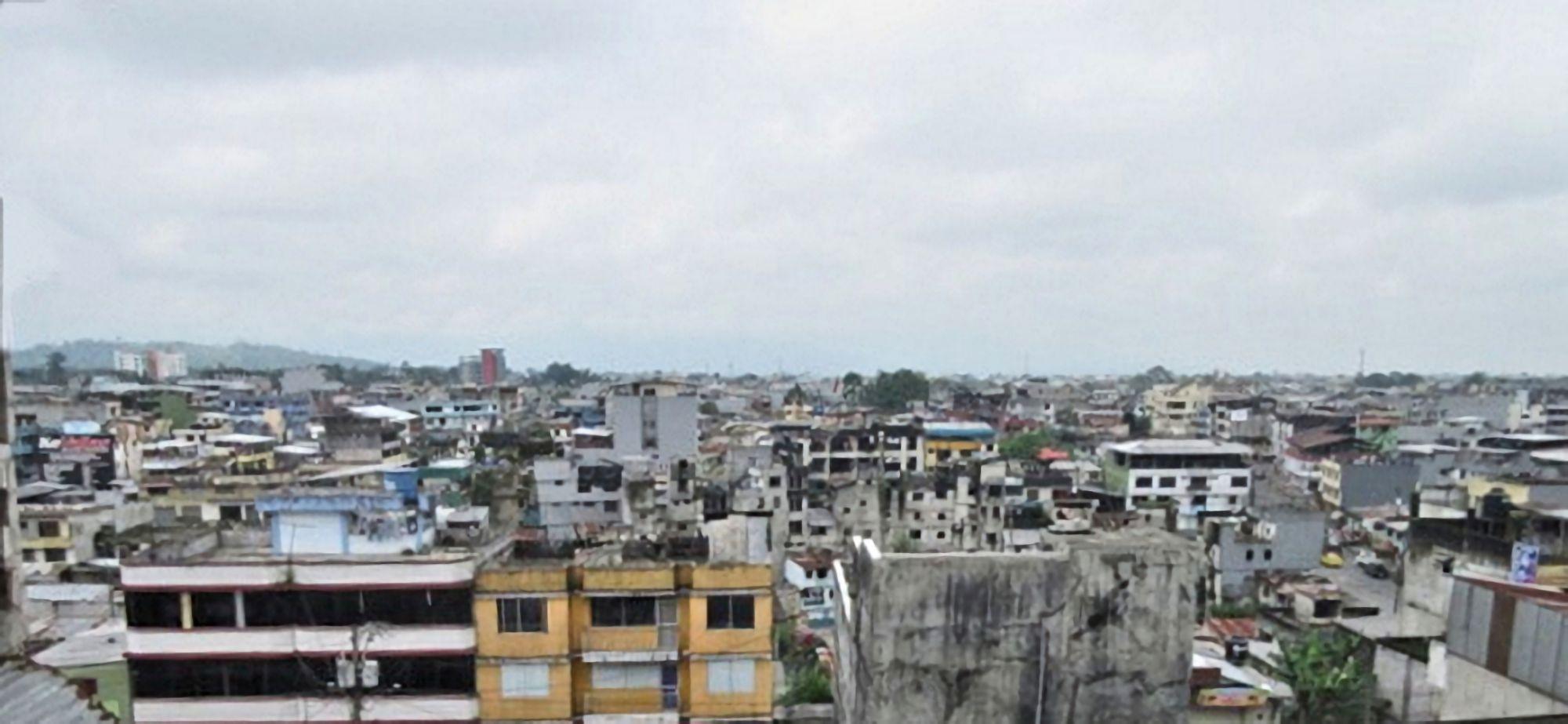 View over Santo Domingo