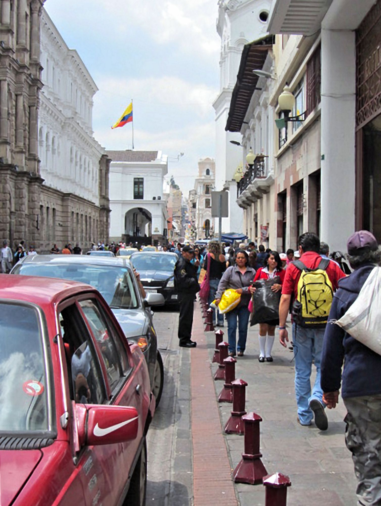 Street in central Quito