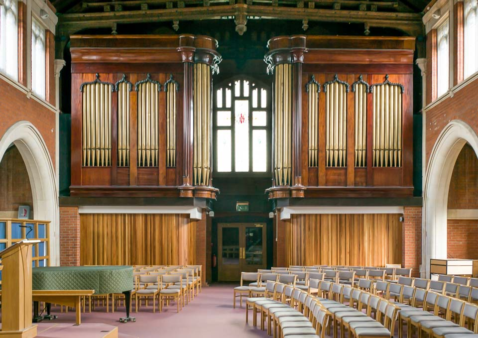 Wesley Church Organ