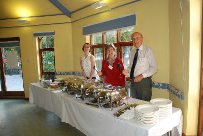 Catering in the Octagon