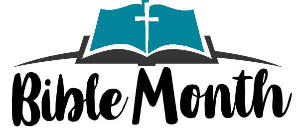 Bible Month Logo